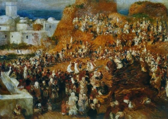 Renoir, Pierre Auguste: The Mosque. Fine Art Print/Poster. Sizes: A4/A3/A2/A1 (004287)